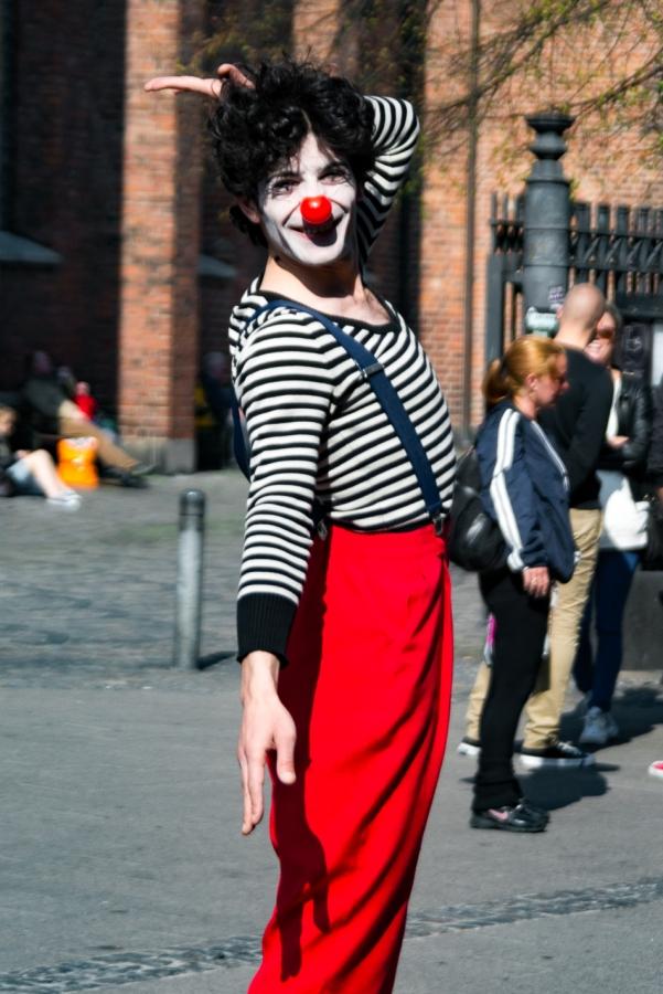 Gadekunstner på Strøget - Processed